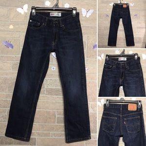 Levi's 505 - 12 slim  24 x 26 - boys straight leg